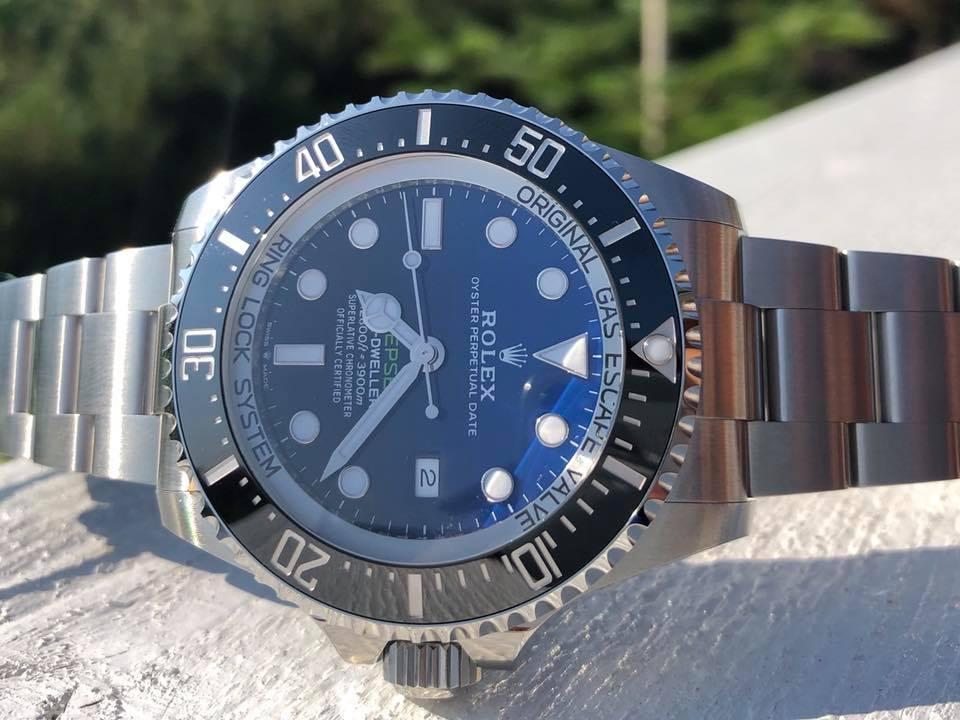 Ingen ventelister på Sea Dweller Deepsea