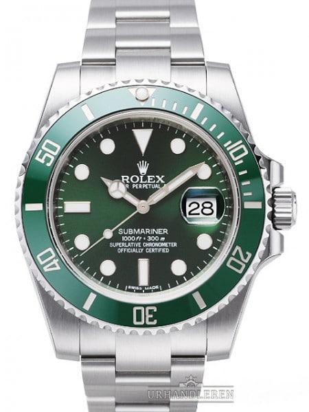 "Rolex Submariner ""Hulk"""