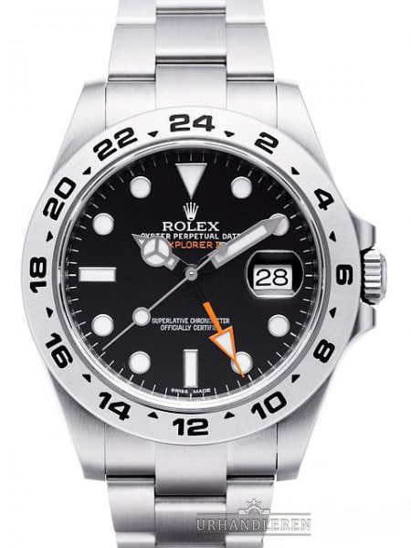 Rolex Explorer II, Sort