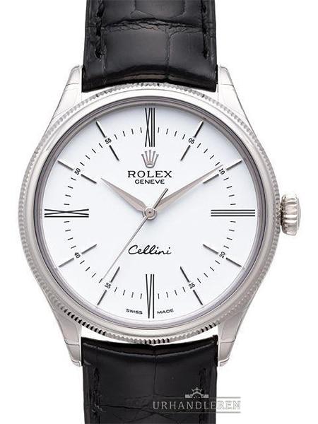 Rolex Cellini Time, Hvid