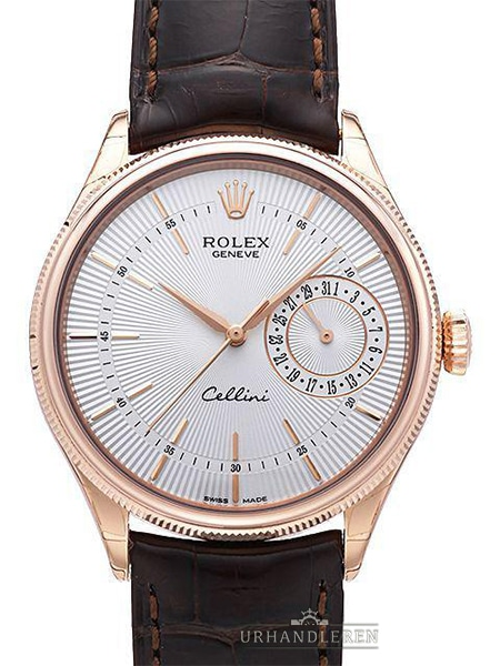 Rolex Cellini Date, Hvid