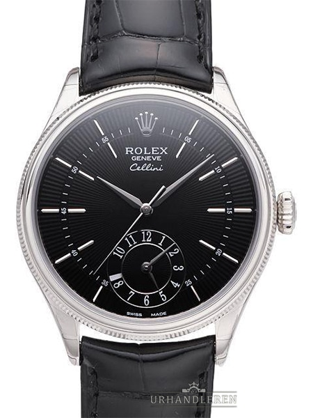 Rolex Cellini Dual Time, Sort