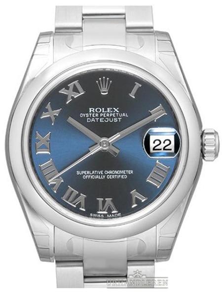 Rolex Datejust 31, Blå