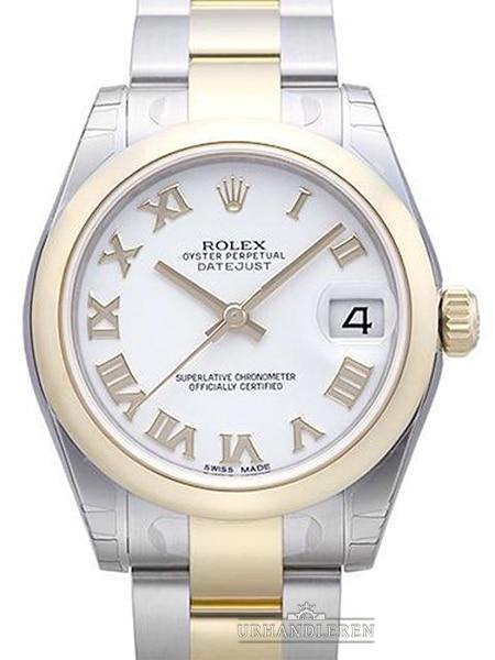 Rolex Datejust 31, Hvid