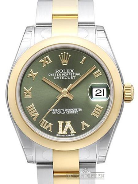 "Rolex Datejust 31, ""Olive green"""