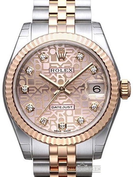 "Rolex Datejust 31, Pink ""Jubilee"""