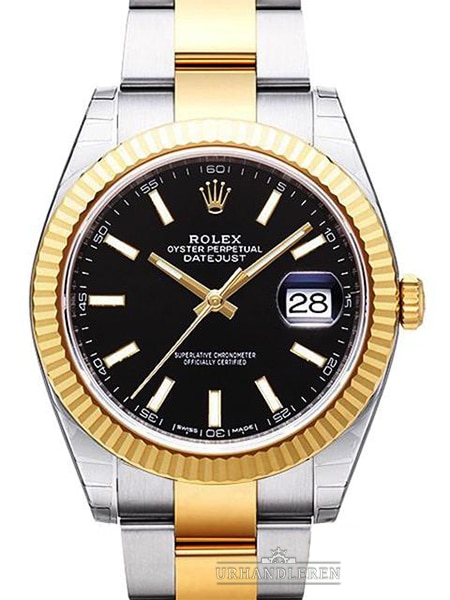 Rolex Datejust 41, Sort