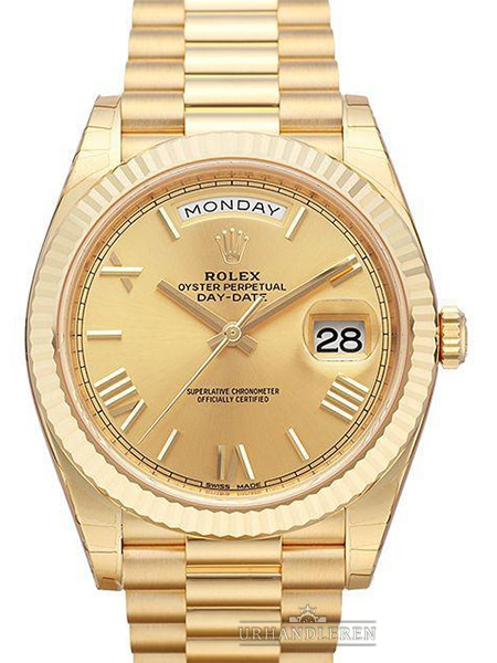 Rolex Day-Date 40, Champagne