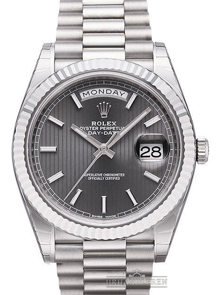 Rolex Day-Date 40, Rhodium