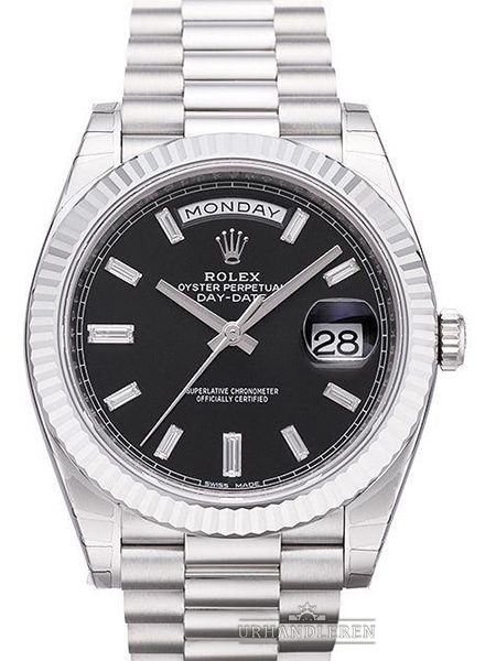 Rolex Day-Date 40, Sort