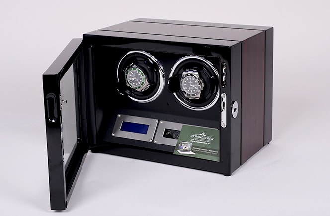 Lindenæs of Denmark watch winder til 2 ure