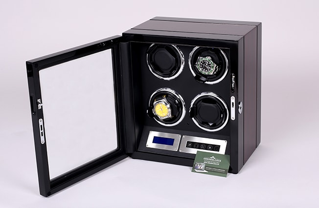 Lindenæs of Denmark watch winder til 4 ure