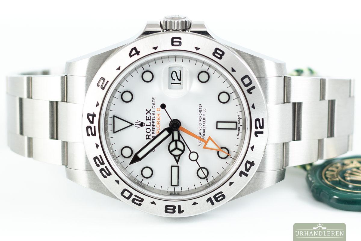 Rolex Explorer II, Hvid
