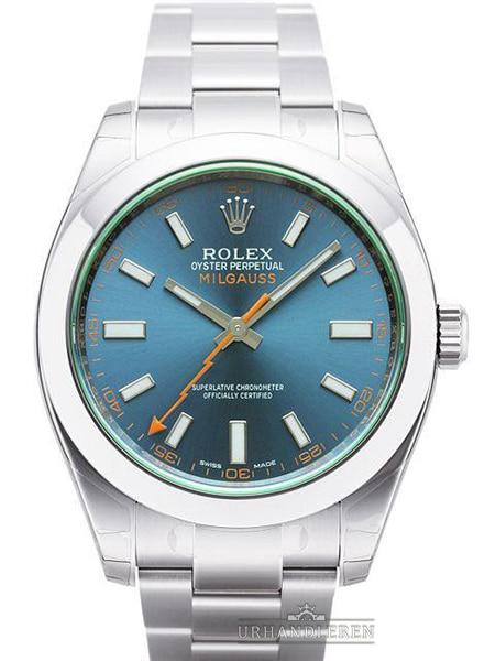 Rolex Milgauss GV, Z-Blue