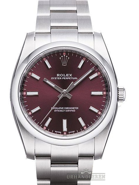 "Rolex Oyster Perpetual 34, ""Red grape"""