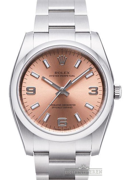Rolex Oyster Perpetual 34, Pink