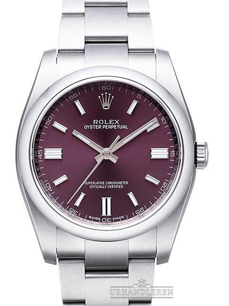"Rolex Oyster Perpetual 36, ""Red grape"""