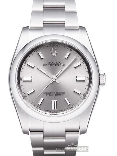 Rolex Oyster Perpetual 36, Rhodium