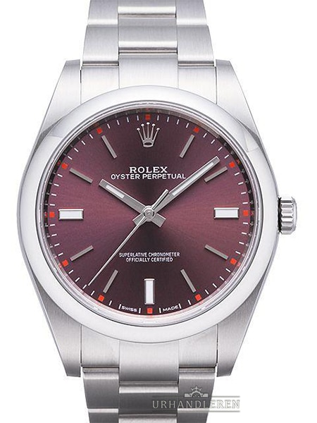 Rolex Oyster Perpetual 39, Red grape