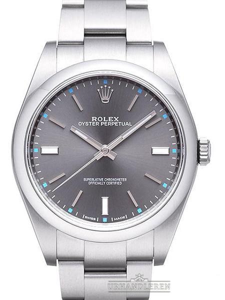 Rolex Oyster Perpetual 39, Dark Rhodium
