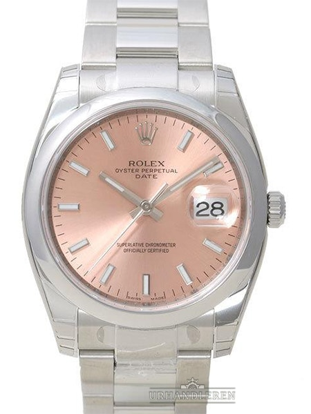 Rolex Oyster Perpetual Date 34, Pink