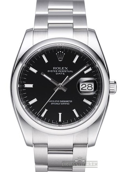 Rolex Oyster Perpetual Date 34, Sort