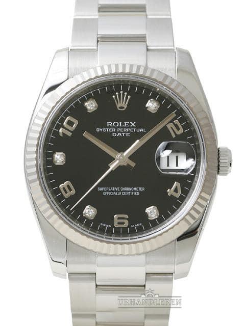 Rolex Oyster Perpetual Date 34, 115234, Sort