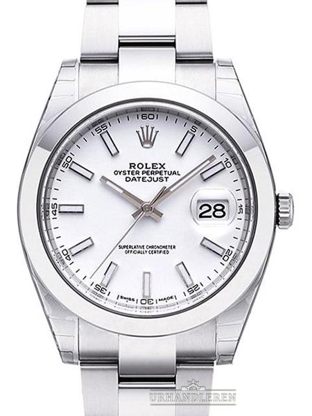 Rolex Datejust 41, Hvid