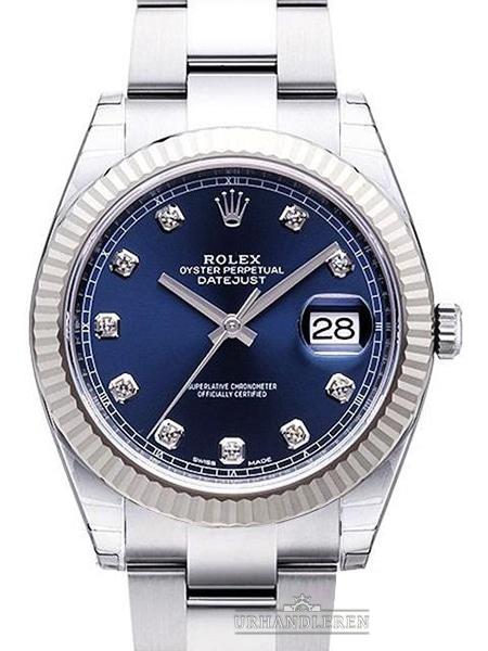 Rolex Datejust 41, Blå
