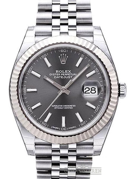 Rolex Datejust 41, Rhodium