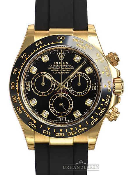 Rolex Daytona, Sort