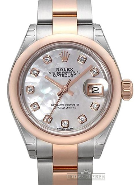 Rolex Lady-Datejust 28, MOP / perlemor