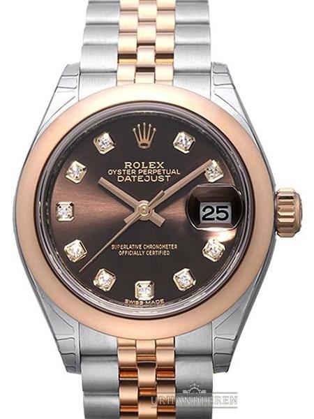 Rolex Lady-Datejust 28, Choko