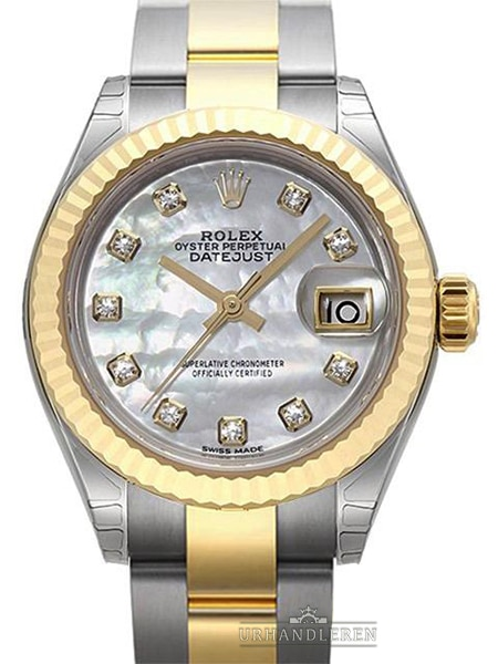Rolex Lady-Datejust 28, MOP/Perlemor