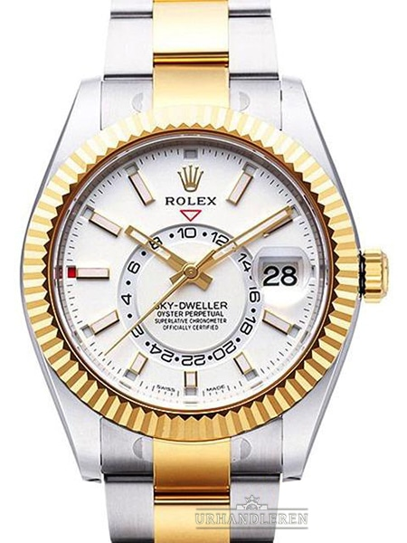 Rolex Sky-Dweller, Hvid