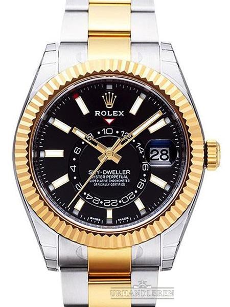 Rolex Sky-Dweller, Sort