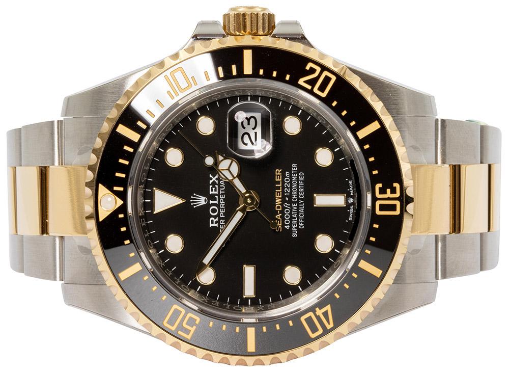 Rolex Sea Dweller Guld/Stål