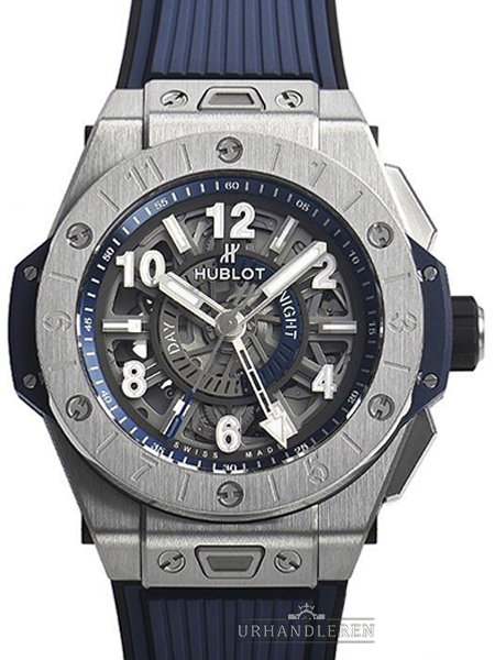 Hublot Big Bang Unico Gmt Titanium Blue Ceramic