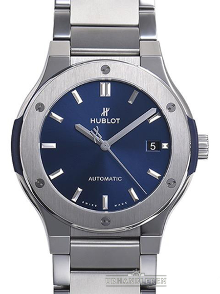 Hublot Classic Fusion Blue Titanium Bracelet