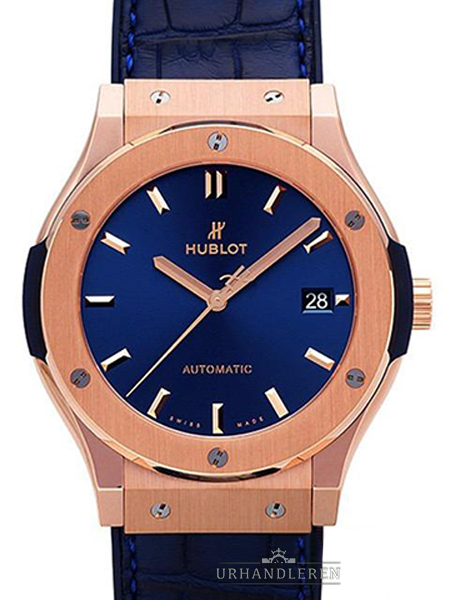 Hublot Classic Fusion Blue King Gold