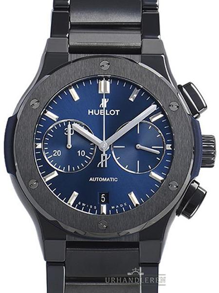 Hublot Classic Fusion Chronograph Ceramic Blue Bracelet