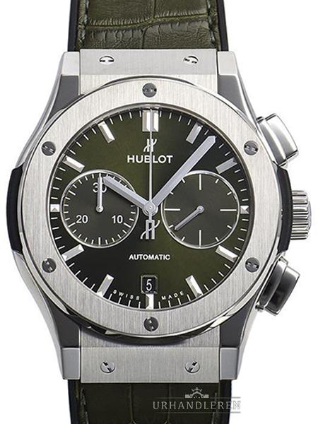 Hublot Classic Fusion Chronograph Titanium Green