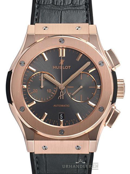 Hublot Classic Fusion Racing Grey Chronograph King Gold