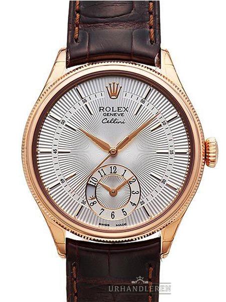 Rolex Cellini Dual Time, Sølv
