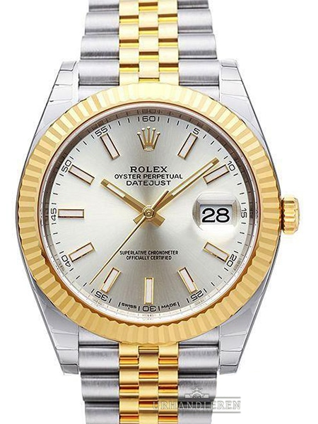 Rolex Datejust 41, Sølv