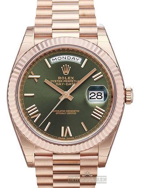 Rolex Day-Date 40, Grøn