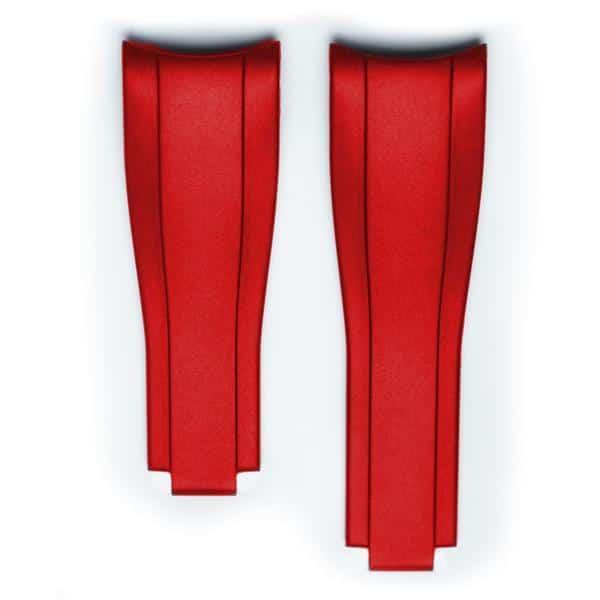 Everest gummirem til foldespænde - Red
