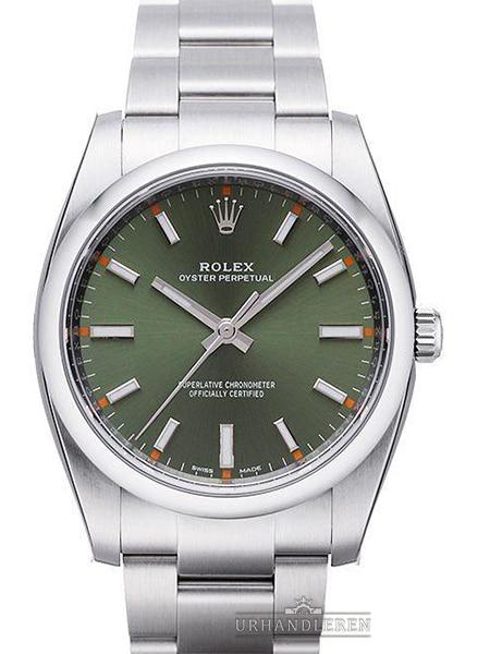 Rolex Oyster Perpetual 34, Grøn