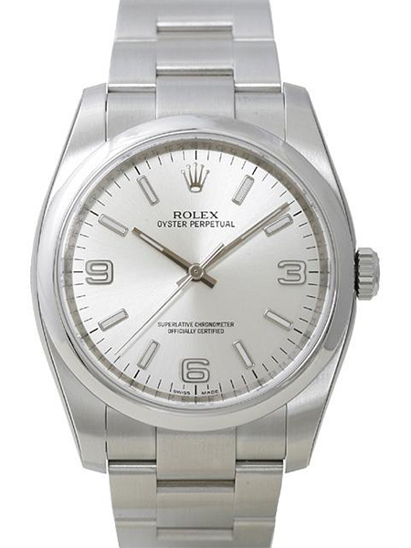 Rolex Oyster Perpetual 36, Sølv