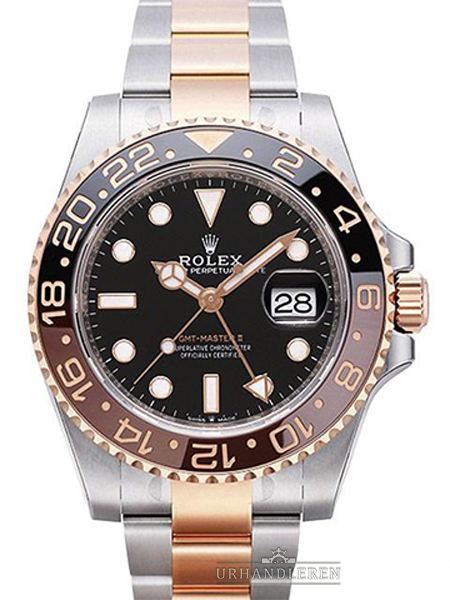 Rolex GMT-Master II, Sort